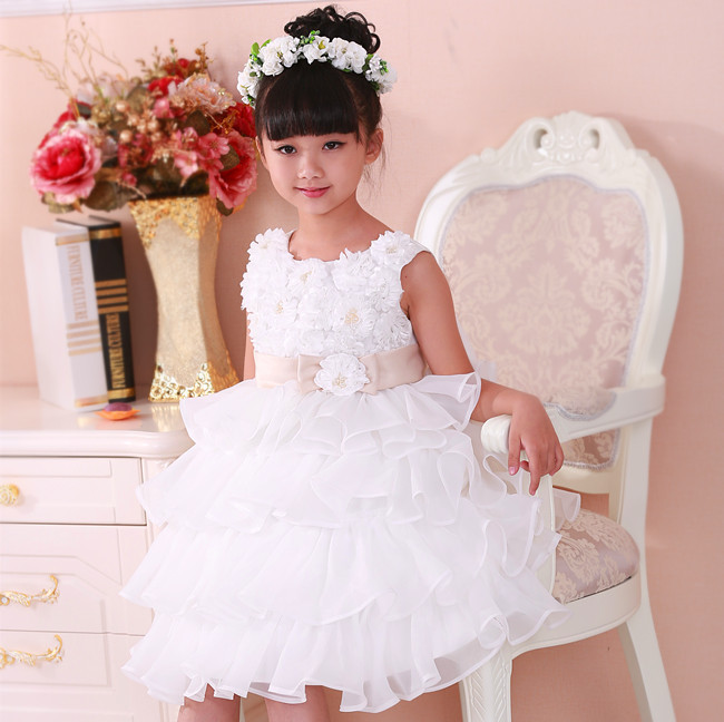 Aliexpress.com : Buy Wedding Flowergirl Dress Children Birthday ...