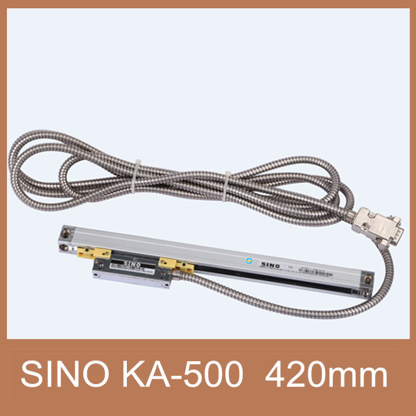 Free Shipping optical scale sensor 5um Sino KA500 420mm linear position sensor Sino KA 500 420mm optical distance sensor|sensor smoke|sensor oil|sensor element - title=