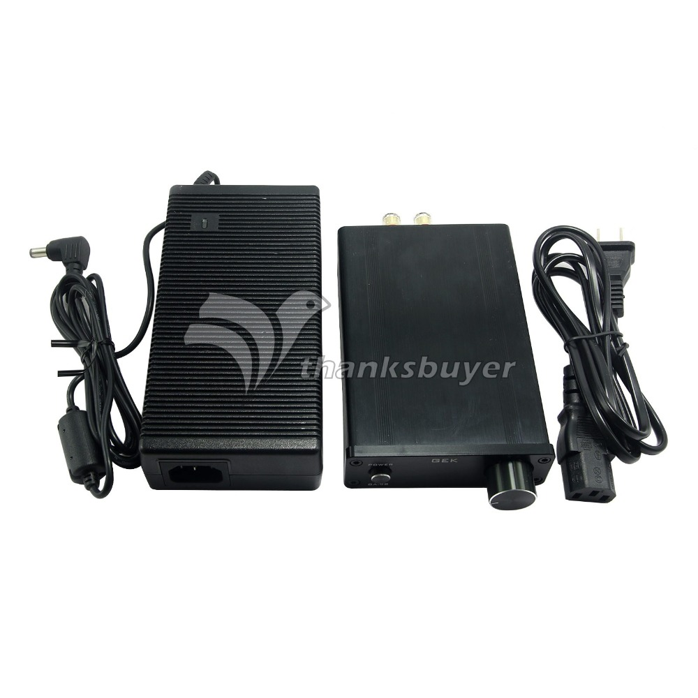 G E K GA 98 TDA7498E 2 0 Channel 160Wx2 HIFI Digital Amplifier Audio Power Amp
