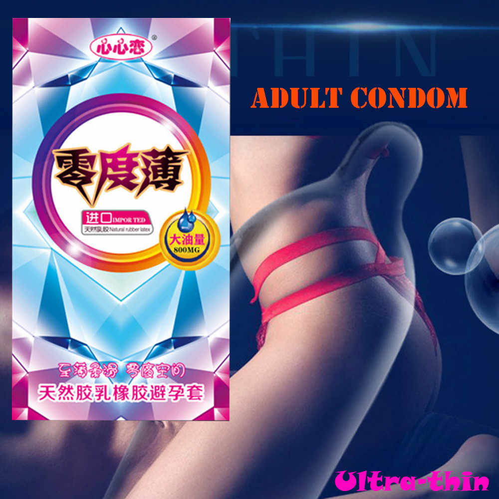 New Arrival 10PC Particles Ultra-thin Latex Lubricants Elite Condoms Adult Supplies preservatifs Lower Price Wholesales 522