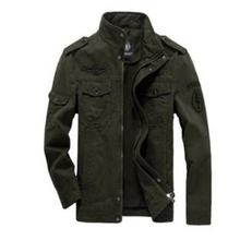 Cotton Military Jacket Men 2019 Autumn Soldier MA-1 Style Army Jackets Male Brand Slothing Mens Bomber Jackets Plus Size S-6XL цена