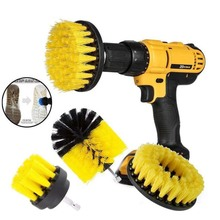 2019 New 3Pcs/Set Electric Drill Cleaning Brush Heads For Power Saves Manual Scrubber Dril Accessories