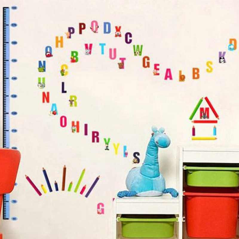 Zs Sticker 180 80 Cm 71 31 Inch Letters Wall Stickers Kids