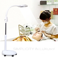 vusum LED beauty tattoo lamp without shadow cold light 16 times magnifying glass lamp Nail beauty eyelashes floor lamp
