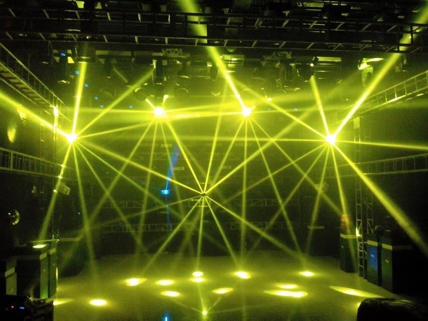 2 шт./лот 200 Вт 5r ролики с подсветкой сканер паук со вращающейся головой световой луч сценический светильник сценическое освещение для диско