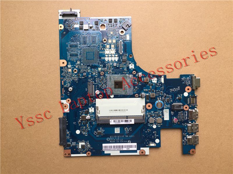 Free shipping Brand New ACLU9 ACLU0 NM A311 for Lenovo G50 30 Motherboard for intel