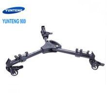 Profissional pro 3 rodas polia universal dobrável tripé câmera dolly base suporte 900