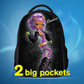 Novo monstro alta moda mochila crianças mochila escolar dos desenhos animados para crianças design de moda crianças mochila das crianças, freeshipping