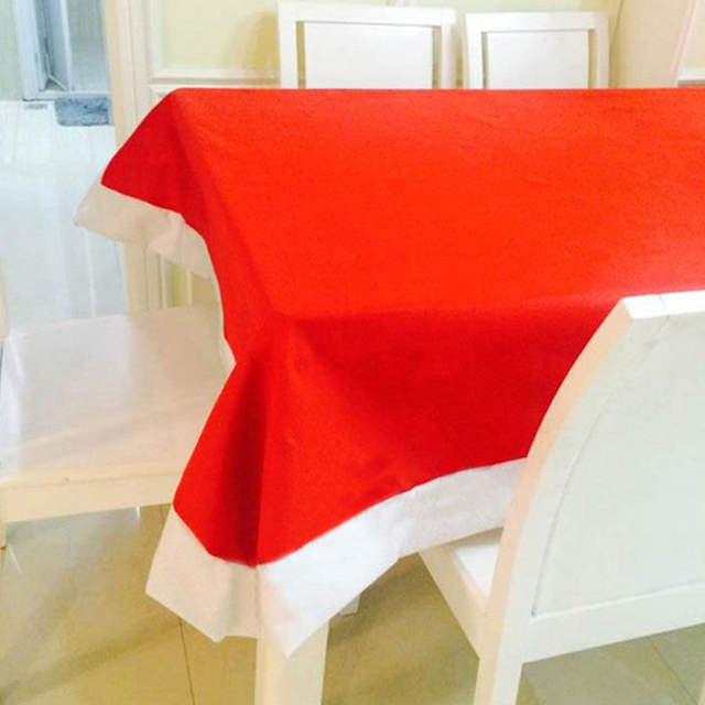 Online Shop Christmas Tablecloth Set 6 Pcs Chairs Cover And 1 Pc