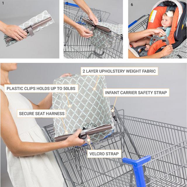 Foldable Shopping Cart Hammock