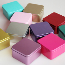 wedding box candy Chocolate Gifts More Color Tin Favor Boxes
