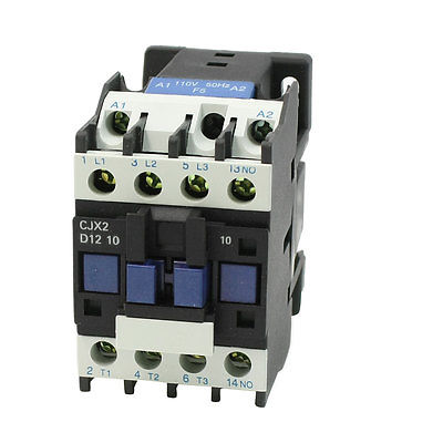 CJX2-12 Coil Volt 3 Phase One NO Motor Controller AC Contactor 660V 25A sayoon dc 12v contactor czwt150a contactor with switching phase small volume large load capacity long service life