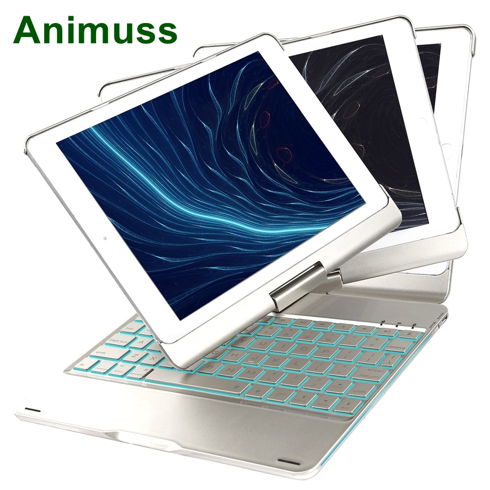 animuss for iPad pro 10.5 inch Tablet PC Bluetooth Keyboard Metal Colorful Backlight Protective Shell Wireless Keyboard Caseanimuss for iPad pro 10.5 inch Tablet PC Bluetooth Keyboard Metal Colorful Backlight Protective Shell Wireless Keyboard Case
