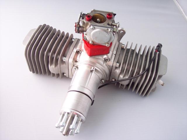 XYZ 100CC Gasoline Engine / Petrol Engine XYZ100 for RC Airplane xyz 53s ts 53cc double cylinder two stroke gasoline engine petrol engine for rc airplane