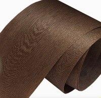 Length 2 5 Meters Width 35cm Coffee Grey Veneer Solid Wood Veneer Furniture Table Decorative