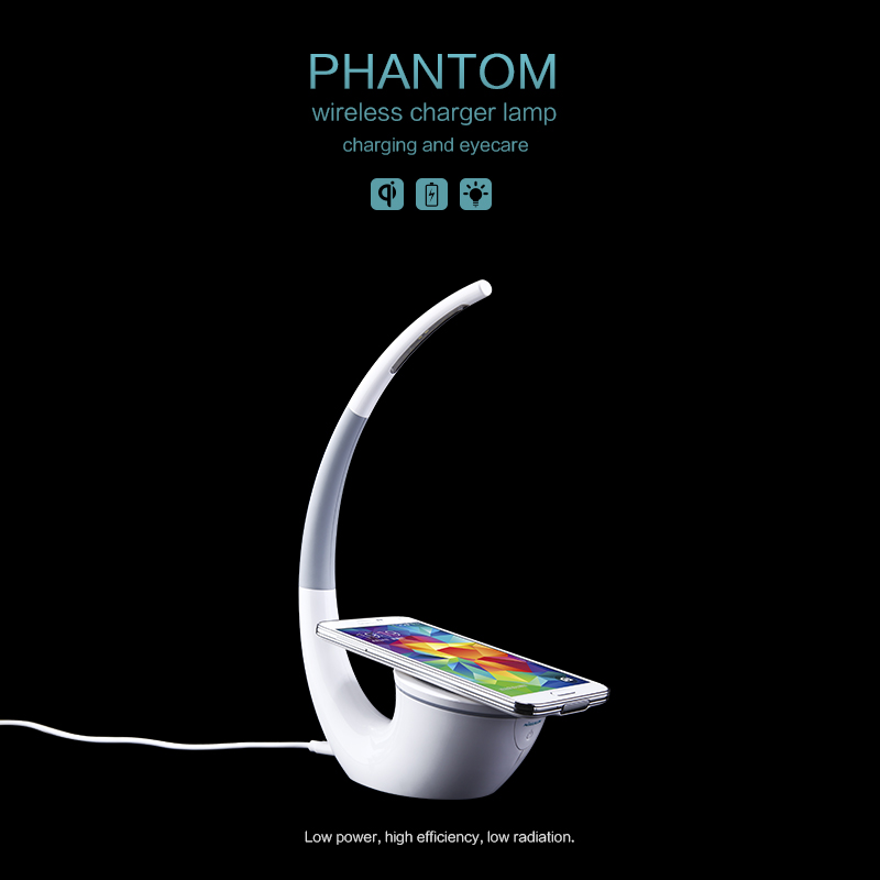Nillkin Wireless Charger power bank Phantom Table Lamp Wireless Life Infinite Freedom Eyecare Phone Power Charger