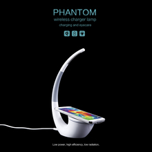Nillkin Wireless Charger power bank Phantom Table Lamp Wireless Life Infinite Freedom Eyecare Phone Power Charger free shipping