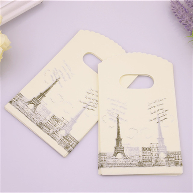 Eiffel Tower Design Gift Bags 50 pcs/lot