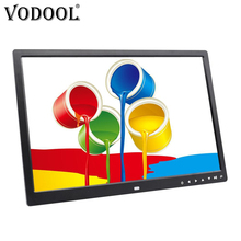 VODOOL 17 Inch HD Digital Photo Frame 1440*900 LED Backlight Electronic Album Pictures Touch Buttons MP3 MP4 Music Video Player