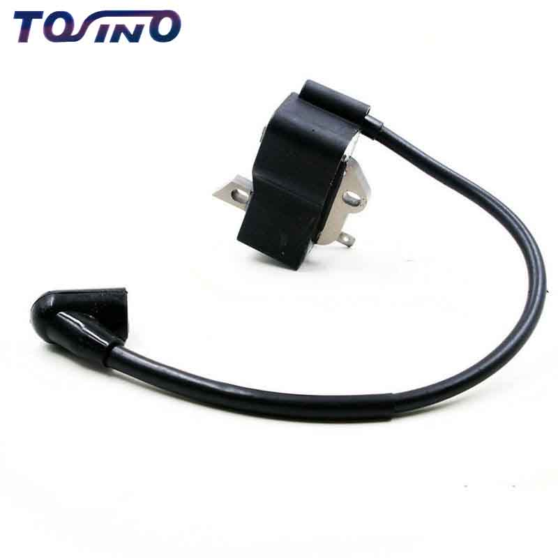 Ignition Coil Module fits for Husqvarna 125R 128R Lown Mower ,Brush cutter,Grass trimmer spare parts ignition coil fits robin ec08 4 stroke pump trimmer chainsaw stator magneto module parts