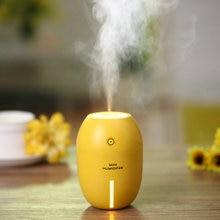 Mini USB Lemon Air Humidifier Led Sprayer Fresh Moist Wetness Air Winter Dry Weather Combat 180ML 5V USB Gadgets Atmosphere
