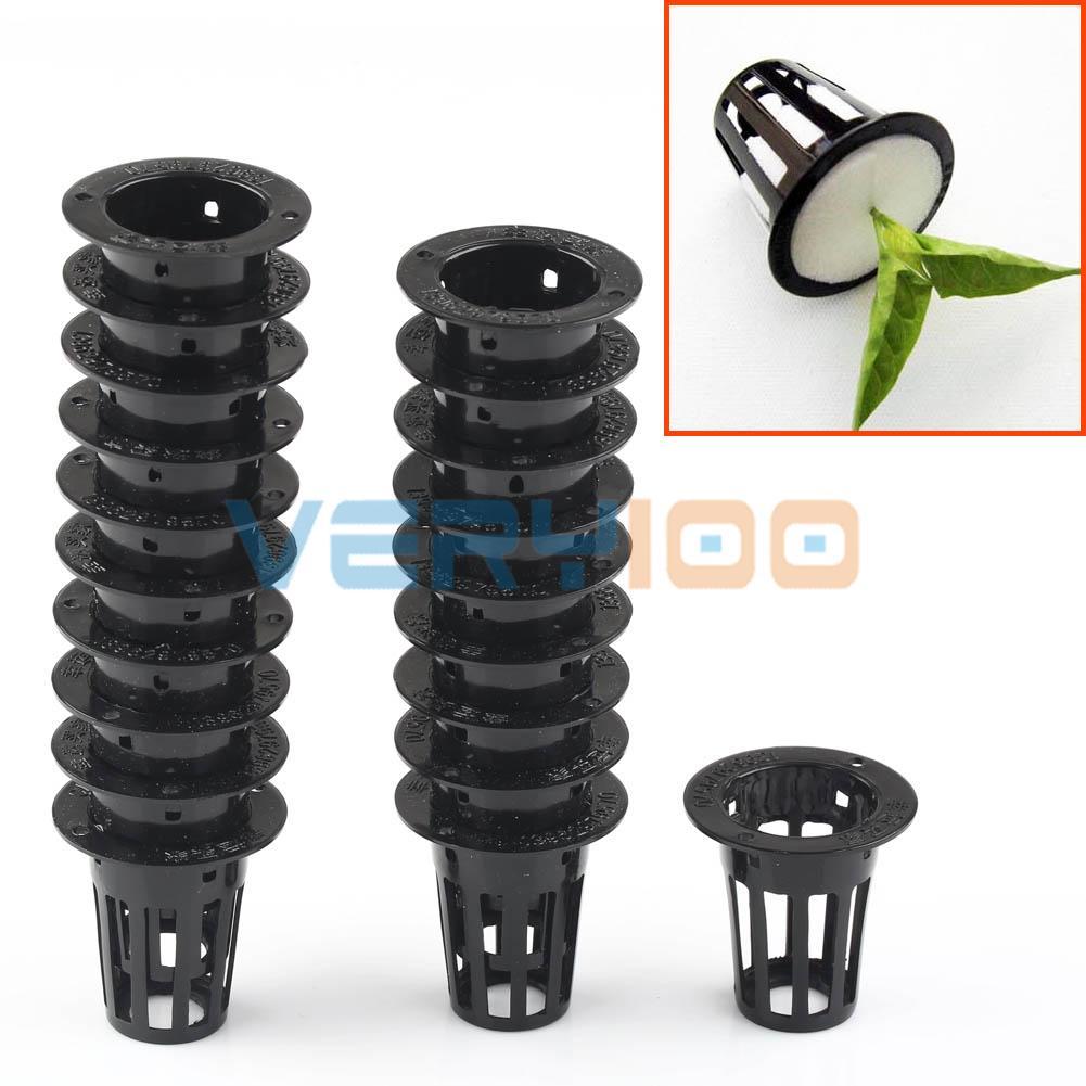 Lots Mesh Pot Net Cup Basket Hydroponic Aeroponic Plant Grow Clone Kit Hanging