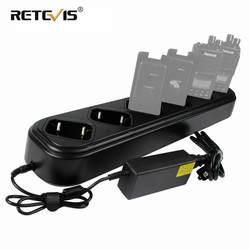 Новое быстрое шестистороннее зарядное устройство однорядное для Retevis RT8 RT81 RT82 для TYT MD-390 рация DMR радио зарядное устройство аксессуары J9115S