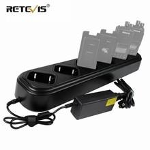 Nieuwe Rapid Zes Way Charger Enkele Rij Voor Retevis RT8 RT81 RT82 RT87 RT50 RT647/RT47 RT83 Walkie talkie/Batterij Oplader J9115S