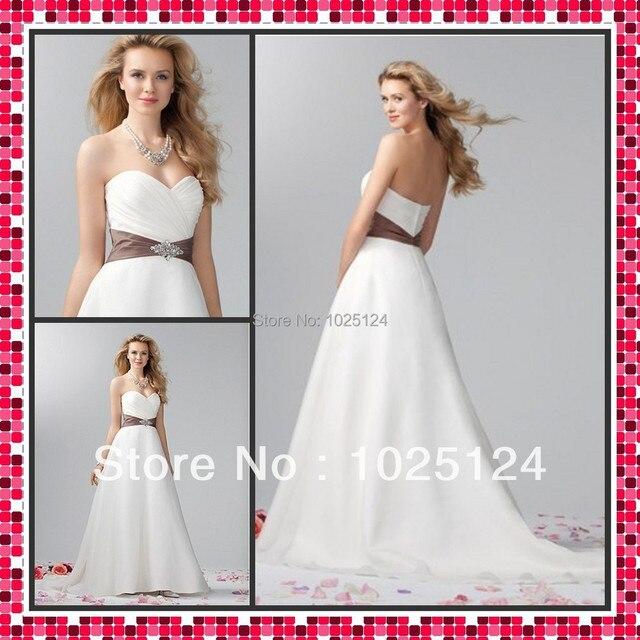 Free Shipping Custom Made CRAZY SELL New White/Ivory Wedding Dress ...