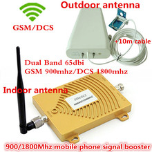 Best Price !!! GSM DCS 1800MHz GSM 900Mhz Dual Band Cell Phone Signal Booster GSM 900 1800 4G Signal Repeater Amplifier Full Set