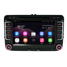 7 Capacitive Screen Quad Core Android 4 4 Car DVD GPS Can Bus for VW Volkswagen