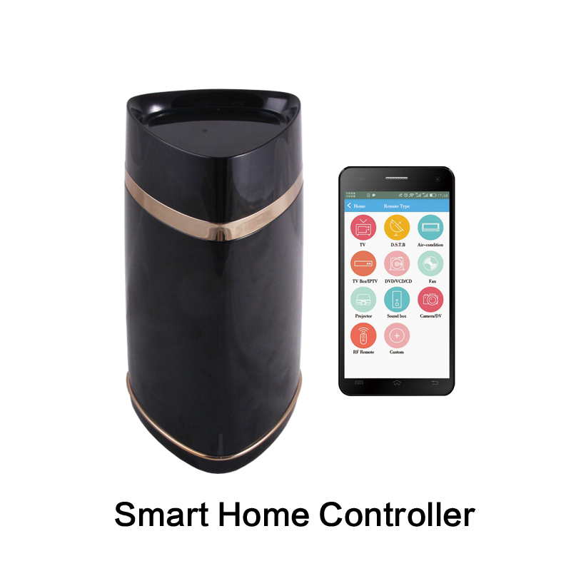 Smart Home Wireless Remote Control Host Automation IR+RF+WIFI Remote control Alarm Function AG-security Factory 1 pcs full range multi function detectable rf lens detector wireless camera gps spy bug rf signal gsm device finder