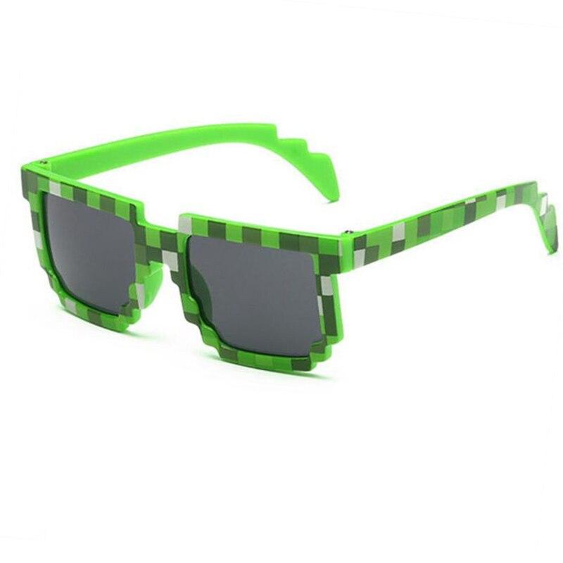 Mutter & Kinder Neue Mode Mxdmy Kinder Pixel Sonnenbrille Plaid Quadrat Baby Gläser Kinder Minecraft Sonnenbrille Deal Mit Es Jungen Marke Designer Brillen