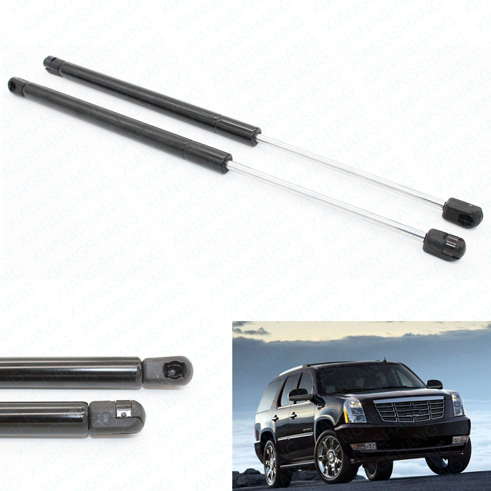 2x Gas Charged Spring Rear Glass Window Struts Lift Support shocks For 2000-2006 GMC Yukon for Cadillac Escalade 18.06 inch