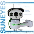 SunEyes  SP-P703W Wifi Wireless Outdoor IP Camera Pan Tilt Rotation ONVIF 720P HD with TF/Micro SD Slot Two Way Audio Array IR