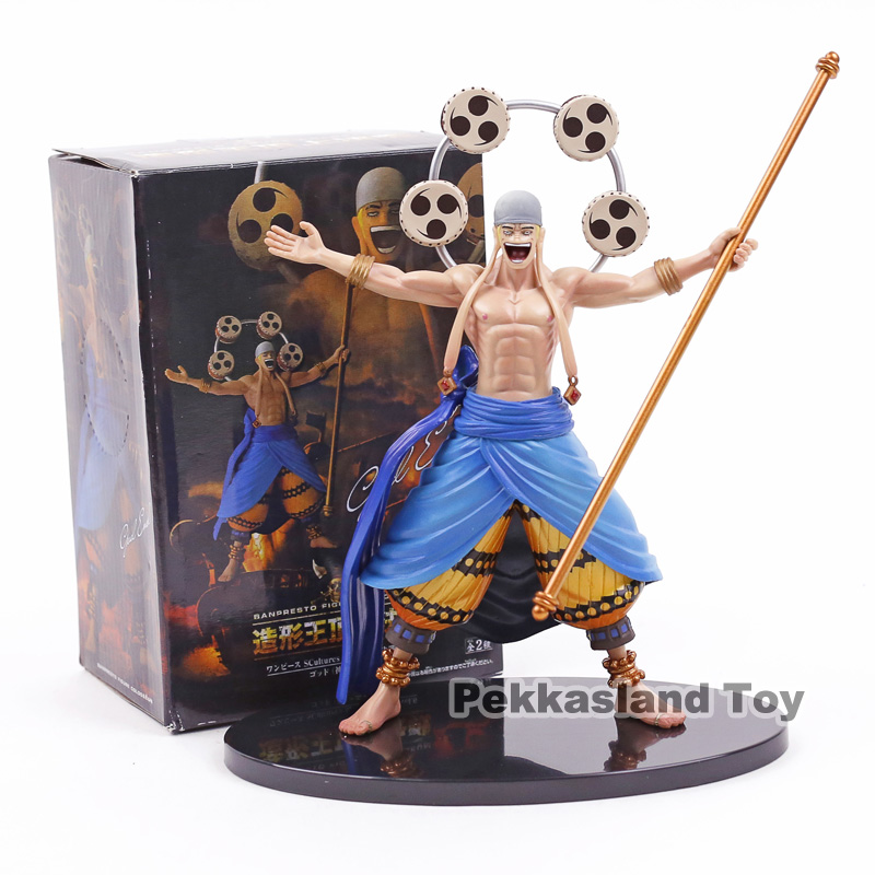 Anime One Piece Colosseum Vol.6 God Enel PVC Action Figure Collectible Model Toy