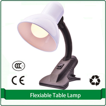 table lamp with clip for desk top living room white black pink goose neck table light lamp wall light lamp (bulb no include)