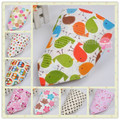 Baby Girl Boy Kids Cartoon Pattern Toddler Baby Waterproof Triangle Cotton Saliva Towel Baby Bib 5KS02