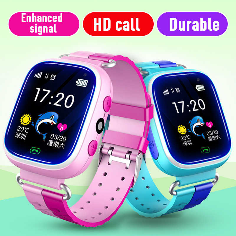 Q90 LBS Kids Smart Watch Baby Anti-lost Watches SOS Call Location Tracker for Children Safe Watch English
