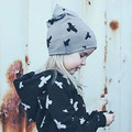 Lovely Toddler Kids Girl Boy Infant Winter Warm Crochet Knit Hat Beanie Cap animal print