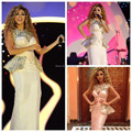 Actual Images 2016 Myriam Fares High Neck t Evening Gowns Heavy Crystal Beaded Formal Celebrity Dresses Designer free shipping