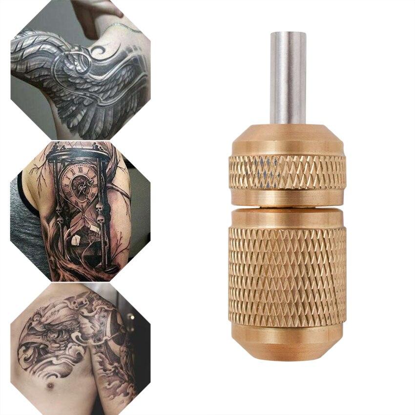 Állandó Smink Tattoo Grips 18mm Kerek Réz csúszásmentes Tattoo - Tetoválás és testmûvészet