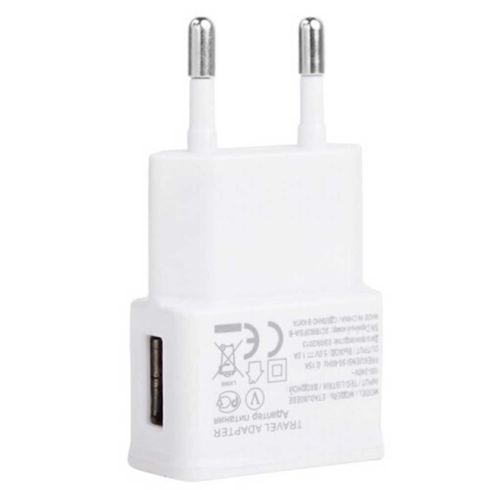 ЕС plug белый 5 в USB настенное зарядное устройство с micro USB кабель для samsung для xiaomi для телефона LG Android телефонов