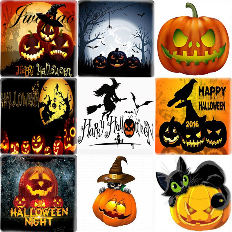 Free P/&P 25 High Quality Pumpkin Beads Halloween Cheapest on