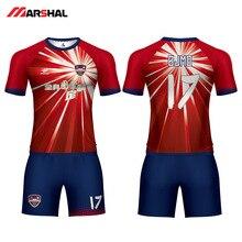 Personalizado projeto do jérsei de futebol camisa de futebol kits uniformes  prática fabricante na linha 773247f2943b8