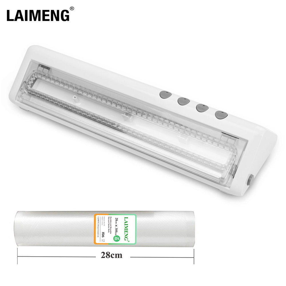 LAIMENG Vacuum Food Sealers Sealing Machine For Food Sous Vide With Vacuum Bags Vacuum Packer 110V
