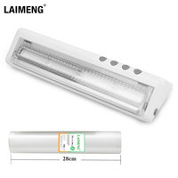 LAIMENG Vacuum Food Sealers Sealing Machine For Food Sous Vide With Vacuum Bags Vacuum Packer 110V 220V Kitchen Appliance  S243|Vacuum Food Sealers|   -