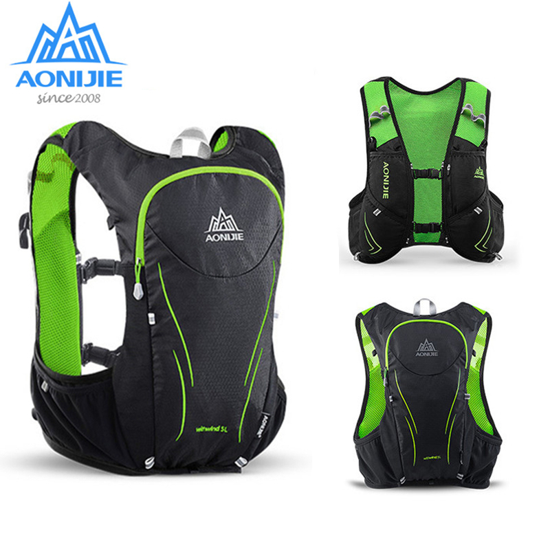 AONIJIE sac à dos d'hydratation sac de sport en plein air sac de sport sac à dos 2L sac à eau pour courir Marathon escalade randonnée vélo