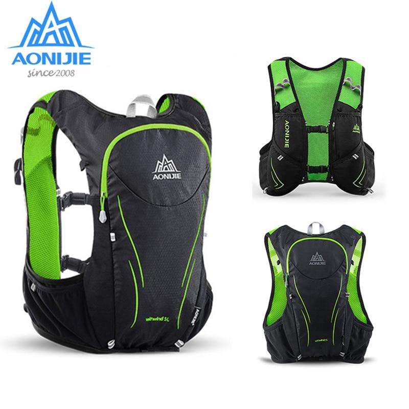 AONIJIE гидратационный рюкзак для спорта на открытом воздухе сумка жилет рюкзак 2L сумка для воды для бега марафон Скалолазание Туризм велосипед