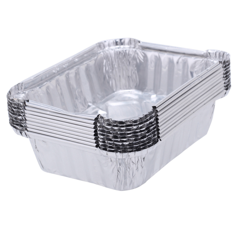 10 Pcs Disposable Cheapest Takeaway Food Storage Containers Small Lunch Dinner Boxes Pans Aluminium Foil Microwavable Case-in Dinnerware Sets from Home ...  sc 1 st  AliExpress.com & 10 Pcs Disposable Cheapest Takeaway Food Storage Containers Small ...